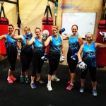 Group fitness photo Mums